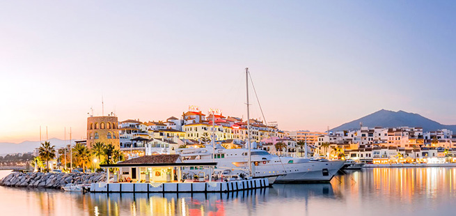 porto di banus tour andalusia