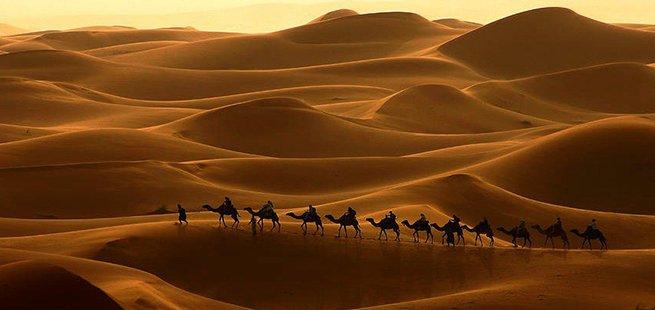 tour marocco città imperiali e deserto - le dune di erg chebbi